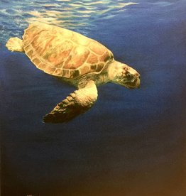 Susan Roberts Going Down (Giclee, Ltd. Ed, Gallery Wrap, 11x14)