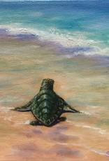 Susan Roberts Tide Traveller II (Original Oil, Gallery Wrap, 6x6)