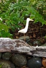Heron (Juvenile, White, Yellow-Beaked, 3, #1806)