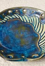 Karen Stern Dish w/Carvings (#1804)