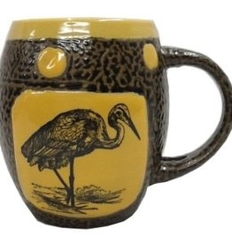 Rare Earth Gallery Crane Mug w/Lid