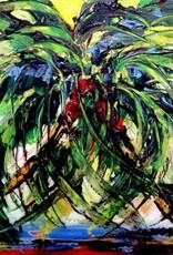 Lisa Jill Allison Florida Love (Original Acrylic, Signed, 36x24)