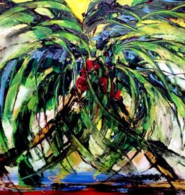 Lisa Jill Allison Florida Love (Original Acrylic, Signed, 36x24)