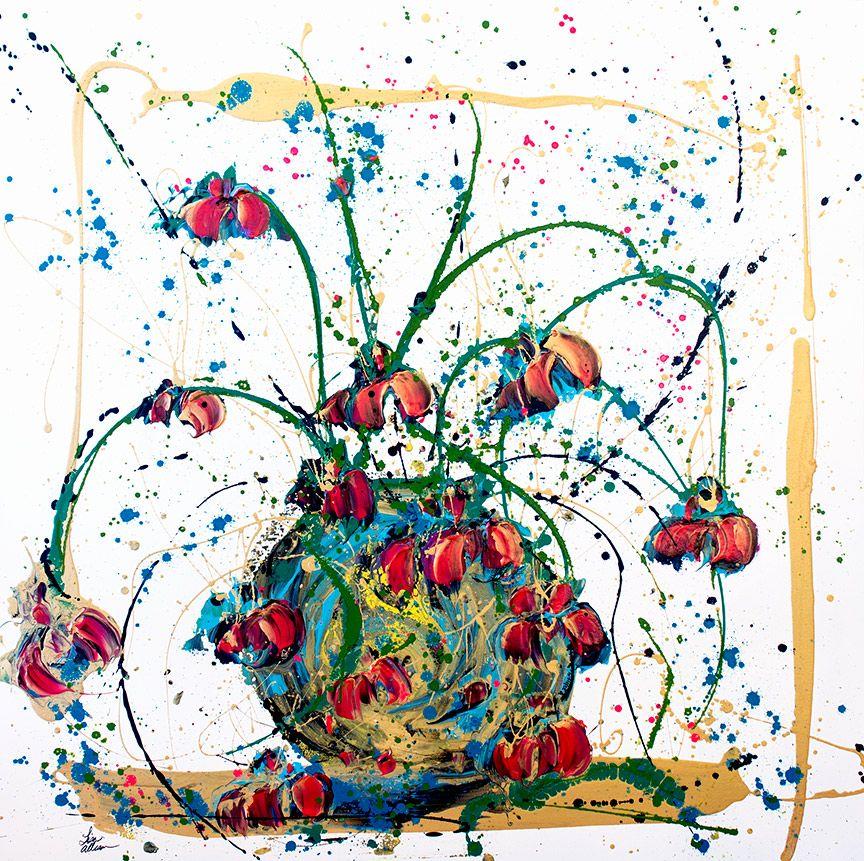 Lisa Jill Allison POP (Original Acrylic, Signed, 48x48)
