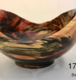 Joe Montagnino Bowl, Side Grain, Norfolk Island Pine (#1714)