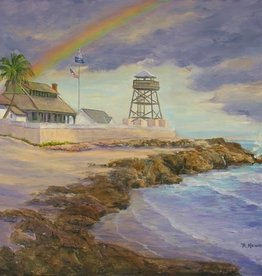 Ruthann Hewson Refuge From The Storm II (Print, Matted, 11x14)