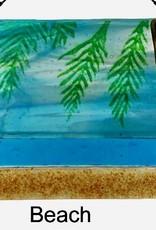 "Rare Earth Gallery Beach (Suncatcher, 6""x4"")"