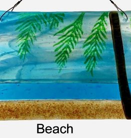 "Rare Earth Gallery Beach (Suncatcher, 6""x4"")"