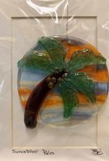 "Rare Earth Gallery Palm Tree (Suncatcher, 4""D.)"