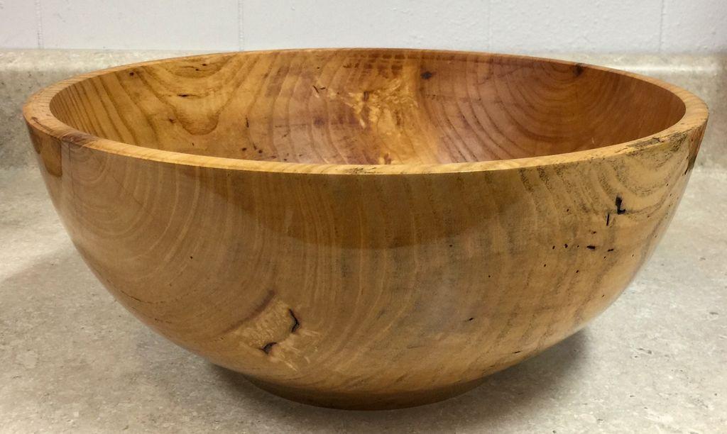"""Loren Wolfe Bowl, Ash (13""""D x 5.5""""H) (#318)"""