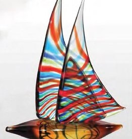 Rare Earth Gallery Sculpture, Chimera Sailboat