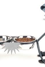 "Rare Earth Gallery Junkyard Dog, Terrier, Double 6"" Bowls"