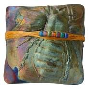 Rare Earth Gallery innerSpirit Rattle: Bumble Bee (Square)