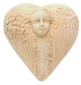 Rare Earth Gallery innerSpirit Rattle: Guardian Angel (Heart)