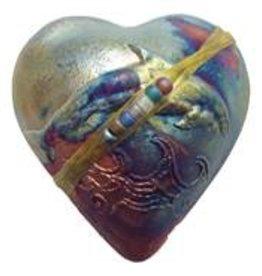 Rare Earth Gallery innerSpirit Rattle: Dolphin (Heart)