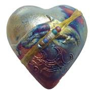 Rare Earth Gallery innerSpirit Rattle: Dolphin (Heart)