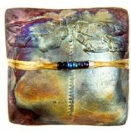 Rare Earth Gallery innerSpirit Rattle: Dragonfly (Square)