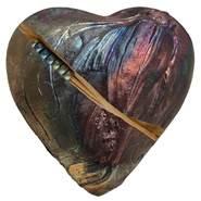 Rare Earth Gallery innerSpirit Rattle: Japanese Koi (Heart)