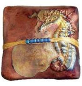 Rare Earth Gallery innerSpirit Rattle: Seahorse (Square)