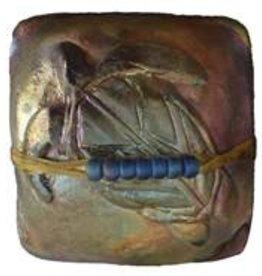 Rare Earth Gallery innerSpirit Rattle: Sea Turtle (Square)