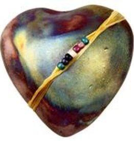 Rare Earth Gallery innerSpirit Rattle: Smooth (Heart)