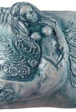Rare Earth Gallery innerSpirit Rattle: Mermaid, Single (Square)