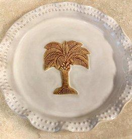 Rare Earth Gallery Plate (Palmetto, Beaded, Round, #67)