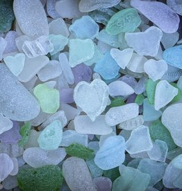 Rare Earth Gallery Sea Glass (Sm, 125 Pieces, Artisanal Wooden Jigsaw Puzzle)