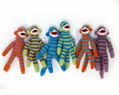 Rare Earth Gallery SOCK MONKEY ORNAMENT