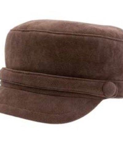 San Diego Hat Company Suede, Cord Greek Fisherman Hat