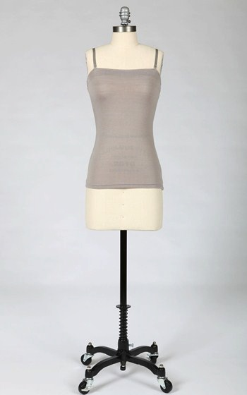 Tulle Tulle tank with removable straps