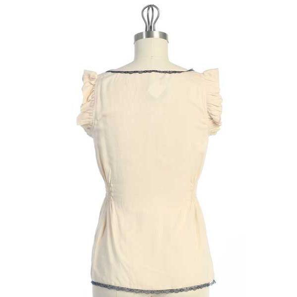 Hazel Hazel Flutter Sleeve Top