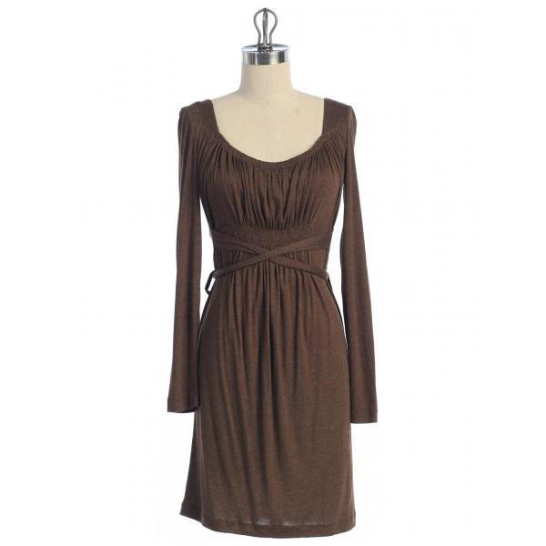 Hazel Hazel long sleeve knit Dress