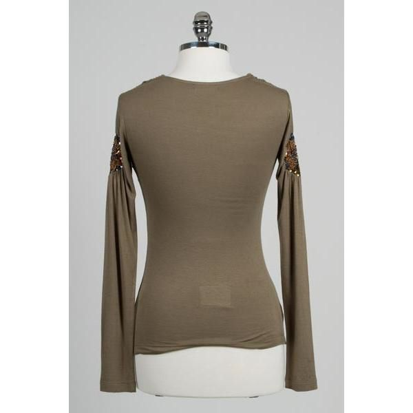 Hazel Hazel long sleeve draped shirt