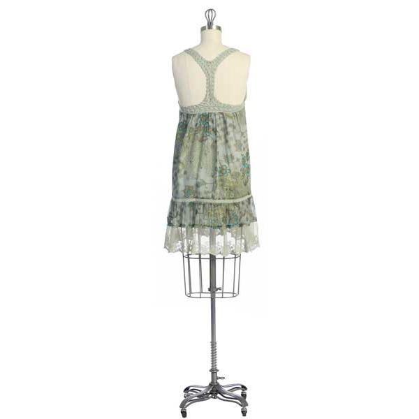 Hazel Hazel Dress with Crochet detail & T back