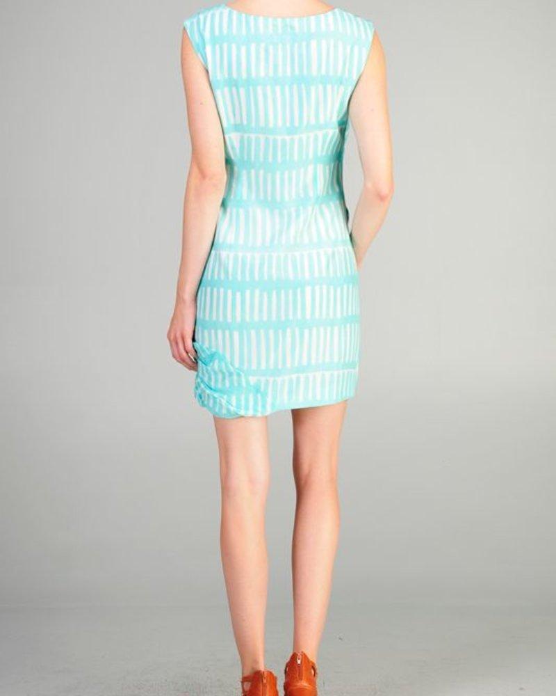 Aryn K Aryn K gathered spring dress