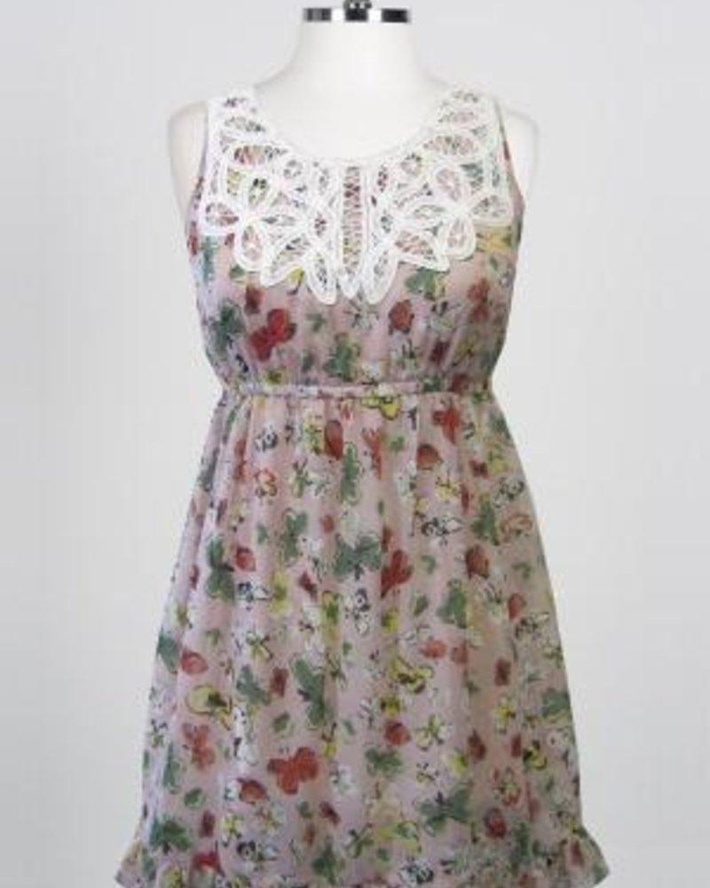 Hazel Hazel Pearl Layered Dress