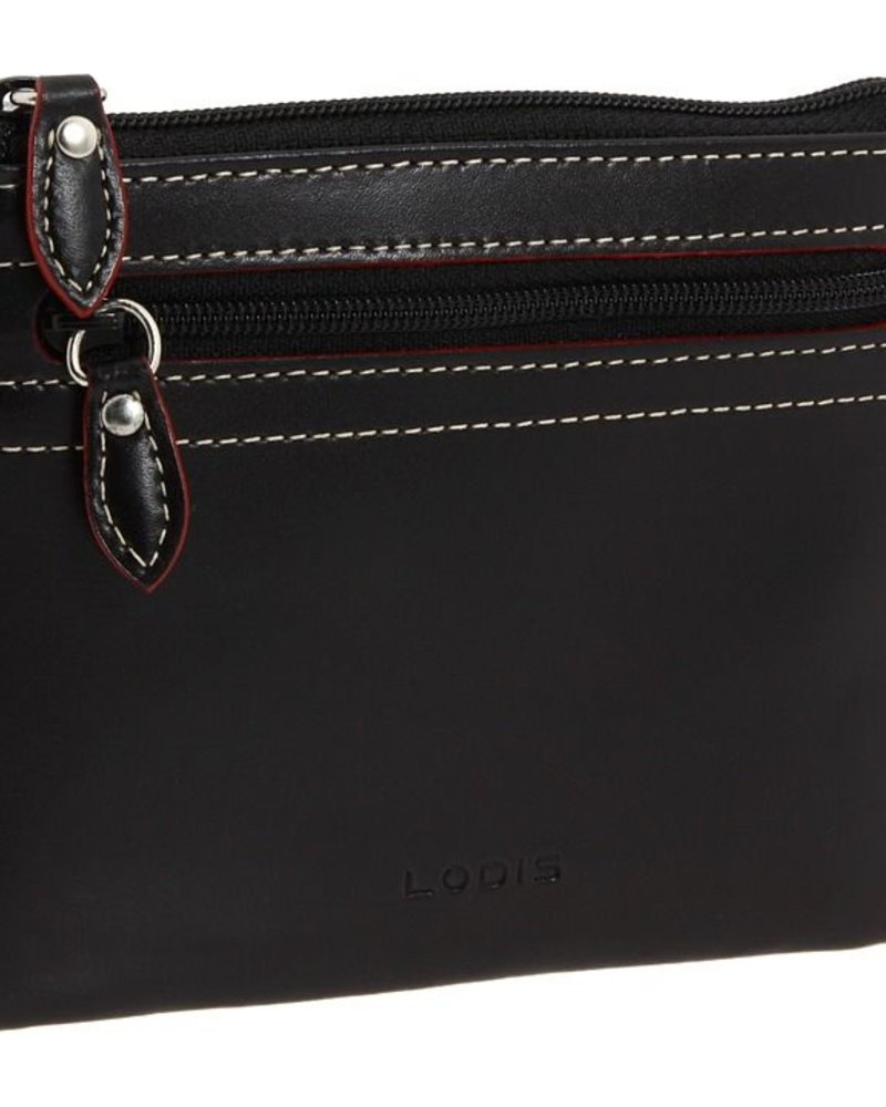 Lodis Lodis Audrey Bess Zip Pouch in Black