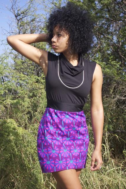 Roberta Oaks Roberta Oaks Fan Dress