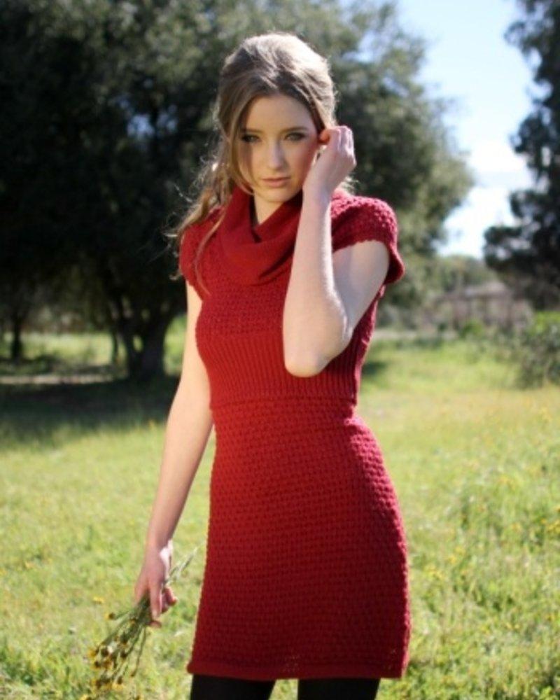 Tulle Tulle Short Sleeve Dress