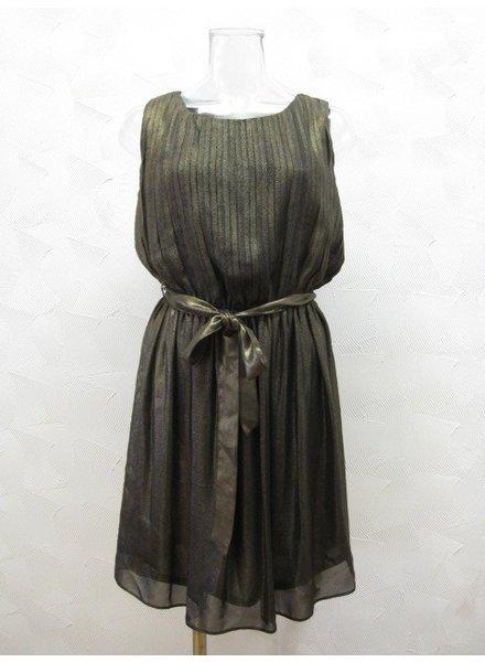 Ark & Co. Ark & Co Black & Gold dress
