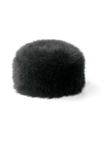 San Diego Hat Company San Deigo Hat Faux Fur Pillbox Hat