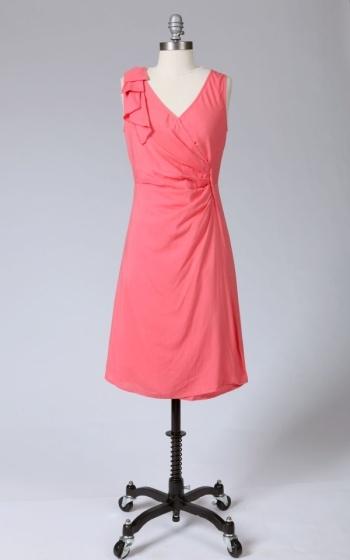 Tulle Tulle one shoulder cascade dress