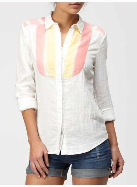 Quiksilver Quiksilver Desert Stripe Button Up Shirt