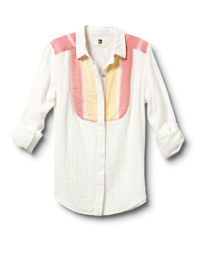 Quiksilver Quiksilver Desert Stripe Button Up Shirt
