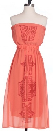 Gentle Fawn Gentle Fawn Fragment Dress in Tigerlilly