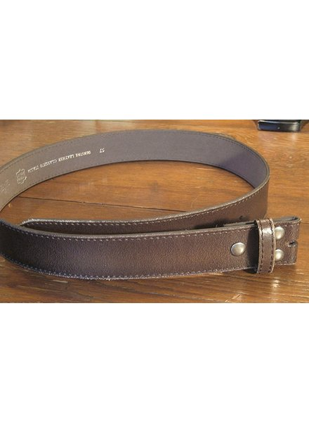 Starr Luna Starr Luna Distressed Brown Belt Strap (Strap only, no buckle)