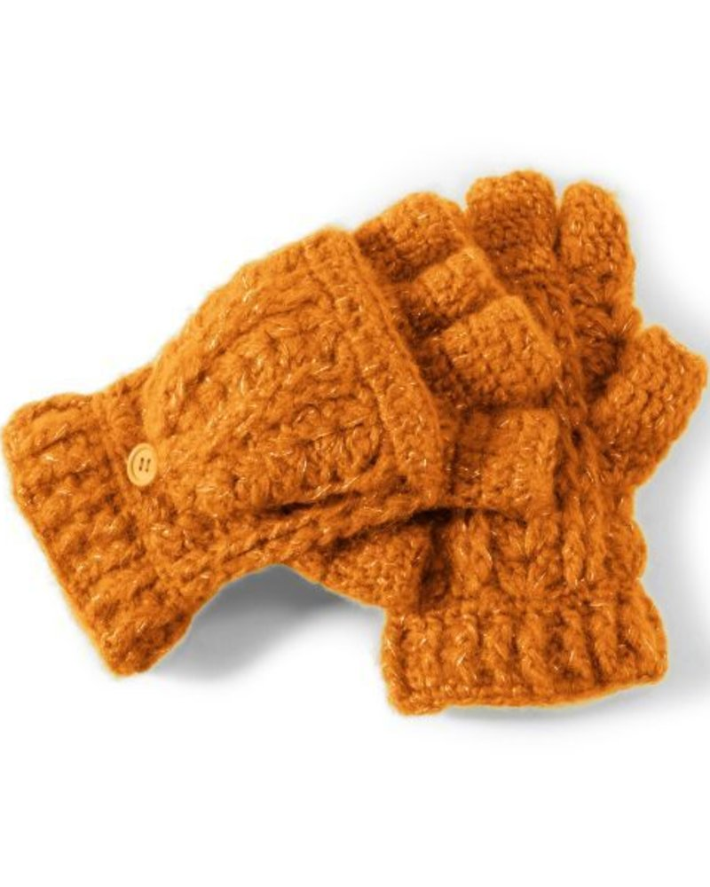 San Diego Hat Company SDH Women's Fingerless Gloves - Orange