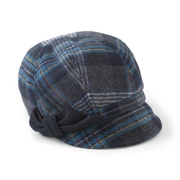 San Diego Hat Company San Diego Hat Company Plaid Newsboy Hat