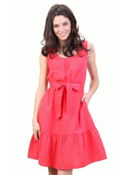 Tulle Tulle Dress with Ruffle Sleeves